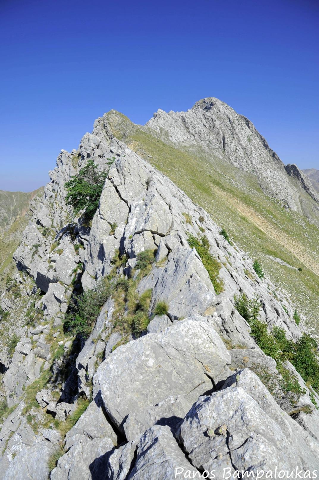 Κορυφογραμμή Κριάκουρα